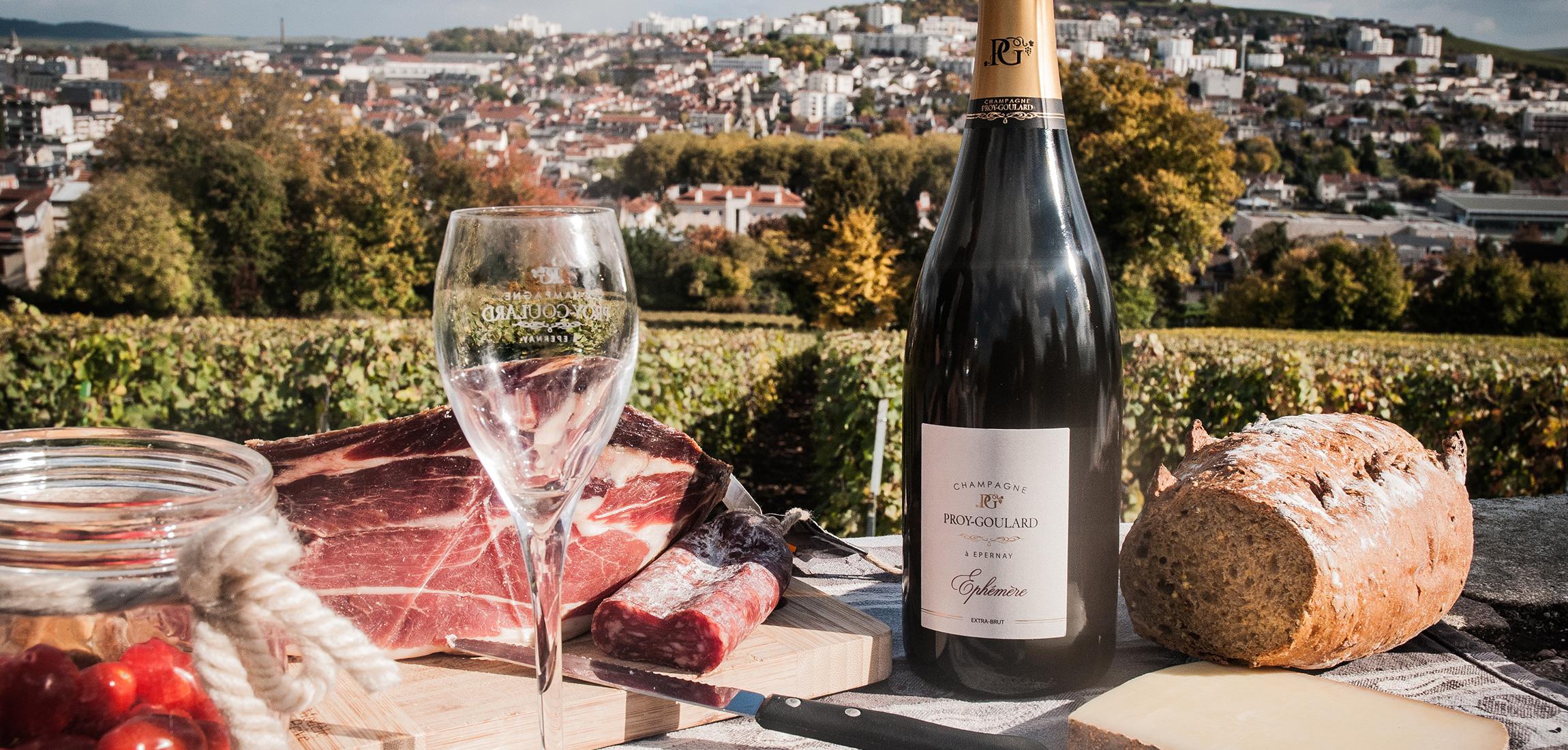 Champagne proy goulard for Les decoratives brut de terre